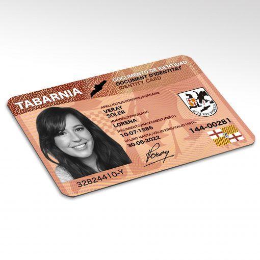 Documento Tabarnés de Identidad (popularmente DNI de Tabarnia)