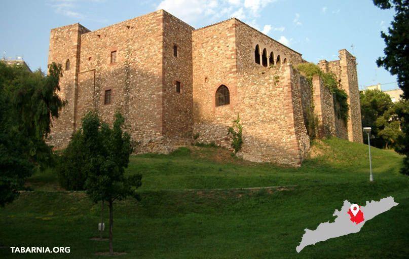 Castillo de Cartoixa de Valparadis. Terrassa. Tabarnia.