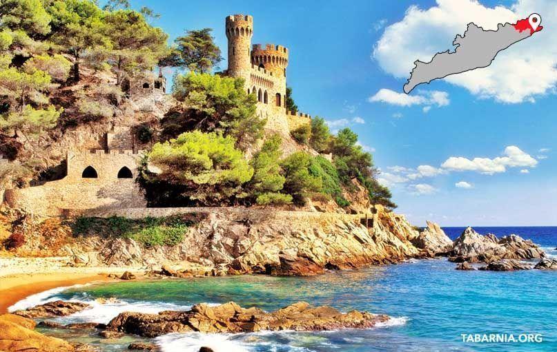 Castillo d'en Plaja de Lloret de Mar. Tabarnia.