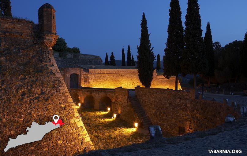 Castillo de de Hostalric. Ruta de los Castillos de Tabarnia.
