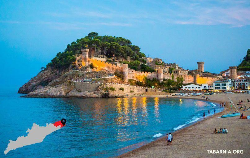 Castillo de Tossa de Mar. Tabarnia.