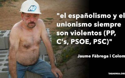 Jaume Fàbrega aumenta el tono xenófobo de su mensaje de odio