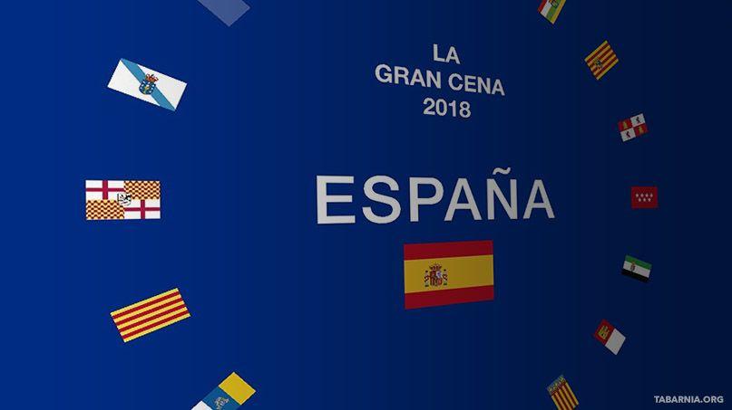 La Gran Cena Española de Barcelona. Plataforma por Tabarnia