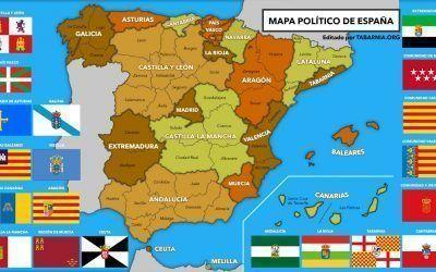Ya está disponible el primer mapa de España que incluye Tabarnia