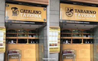 """Tabarnia se va a llenar de """"tabarno tavernas"""". Las tabernas tabarnesas"""